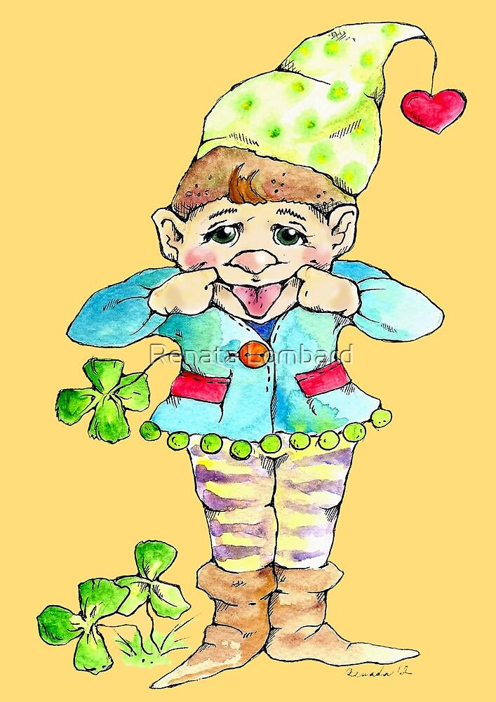 Little elf for luck by Renata Lombard
