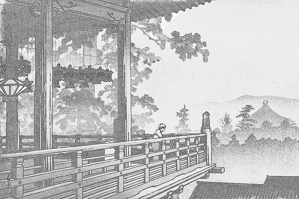 Nigatsu-do Temple, Nara, Japan by chawus