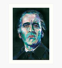 Dracula - Christopher Lee Art Print