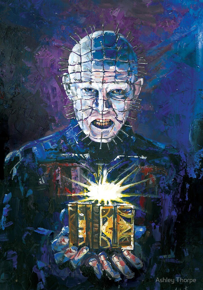Pinhead - Hellraiser by Ashley Thorpe