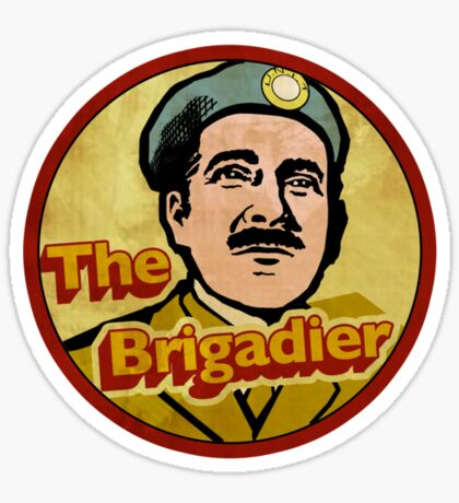 The Brigadier (Doctor Who) Sticker