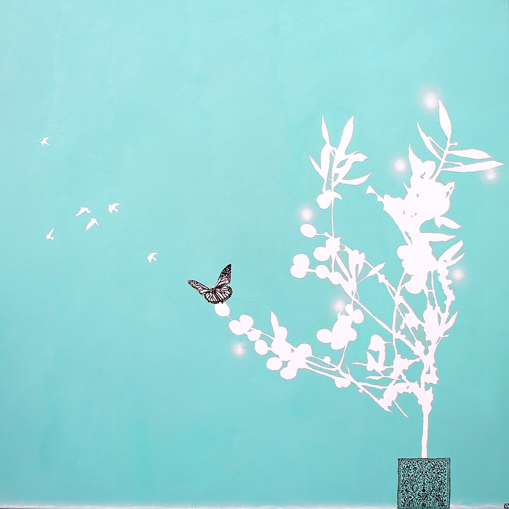 The Olive Tree Butterfly by Joseph Venning