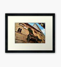 Life Above-Arezzo, Italy Framed Print