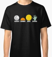 The Dead Trilogy 1968-1985 white print Classic T-Shirt