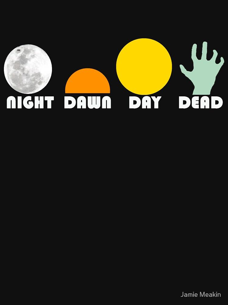 The Dead Trilogy 1968-1985 white print | Unisex T-Shirt