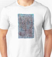 Snow Pines (Blue) Unisex T-Shirt