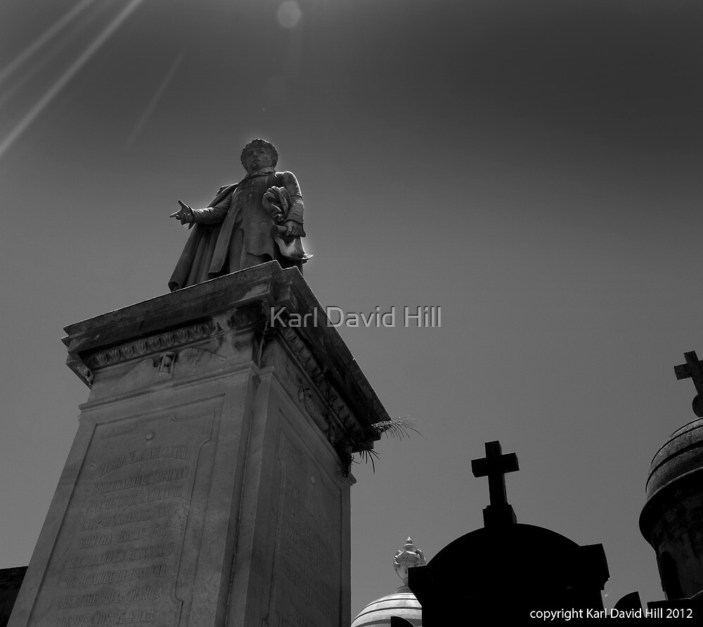 la recoleta cemetery 003 by Karl David Hill