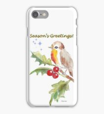 Season's Greetings! 1 Little bird (1) iPhone Case/Skin