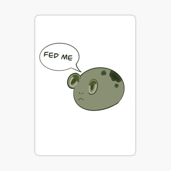 Froggo hambriento Pegatina