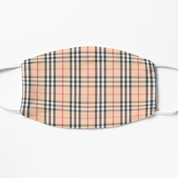 Preppy plaid mask  Mask
