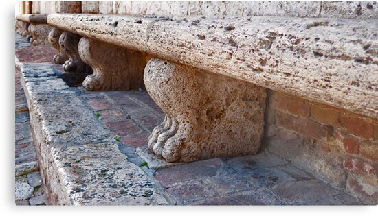 Stone Benches by phil decocco