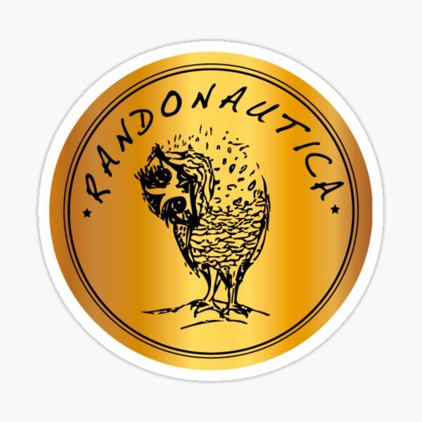 Logotipo de Randonautica Pegatina