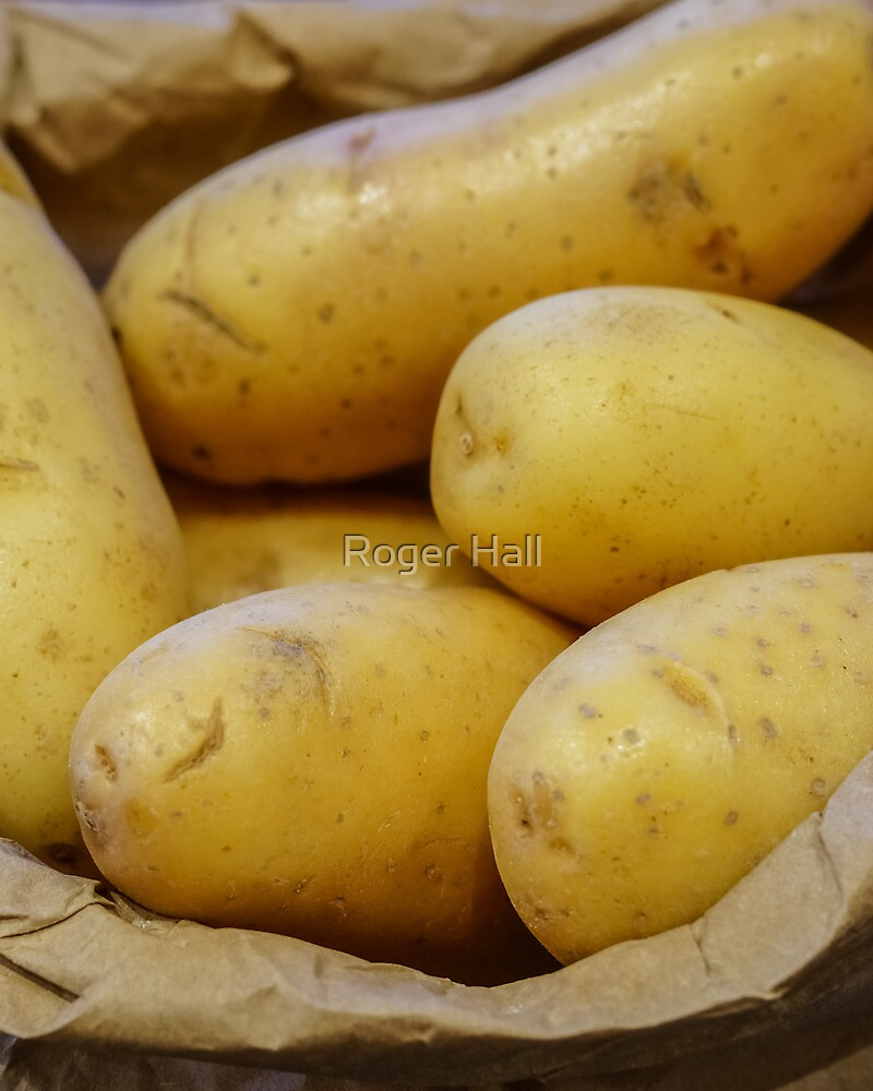 Tates... New Potatoes In A Paper Bag by Roger Hall