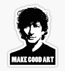 Make Good Art Sticker