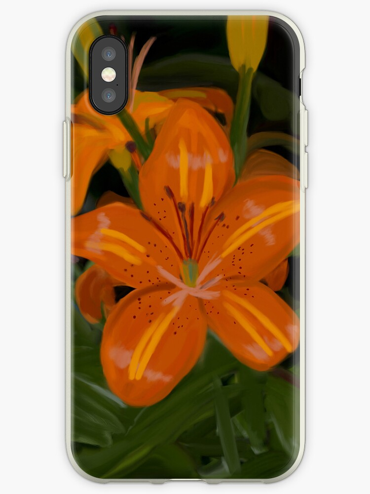 Tiger Lilies - iPhone by Sandra Chung