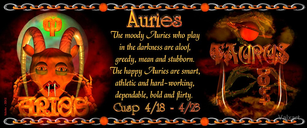 The Aries/Taurus Cusp is approximately from dates April 16