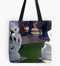 Sculpture at Whepstead Manor Open Day Tote Bag