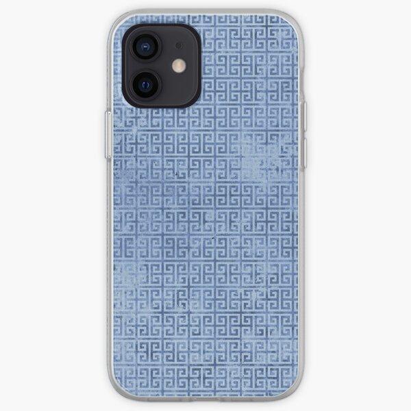 Doric Blue iPhone Soft Case