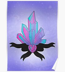 Pretty Crystals Poster