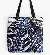 Melbourne's get-about wheels Tote Bag