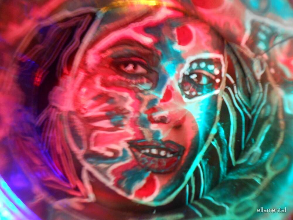 Daughter of Shape - Shifting Jungles  by ellamental