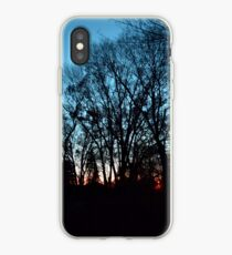 Cyan Sky iPhone Case