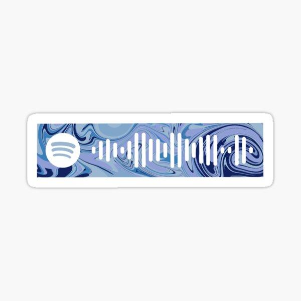 """Mamma Mia""- Meryl Streep, Spotify code Sticker"