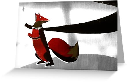 The red fox by Louis Delos Angeles