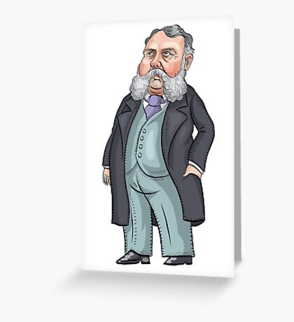 President Chester A. Arthur Greeting Card