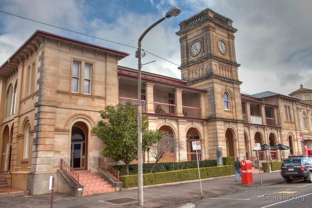 Quot Old Toowoomba Post Office Quot By Seanbuckley Redbubble
