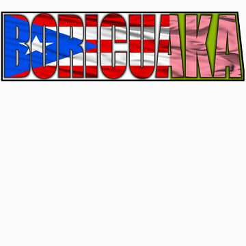 Abstraq Inc: BoricuAKA (Puerto Rico) by Abstraq