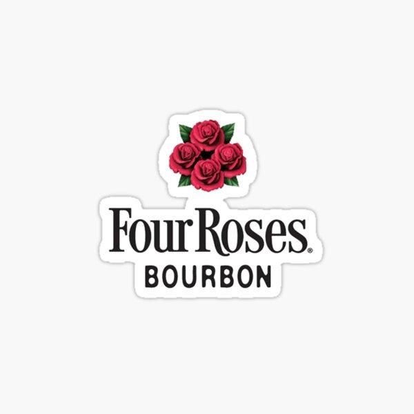 Four Roses Bourbon Whiskey  Sticker
