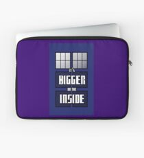 It's Bigger on the Inside Laptop Sleeve
