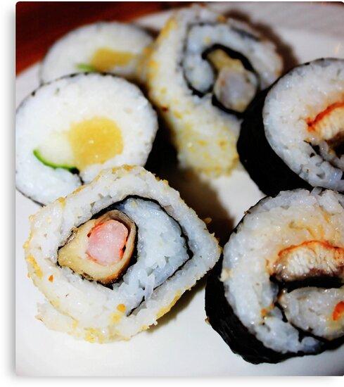 Sushiiiiii!!!! by Louis Delos Angeles
