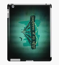 Life is a Carnivale! iPad Case/Skin