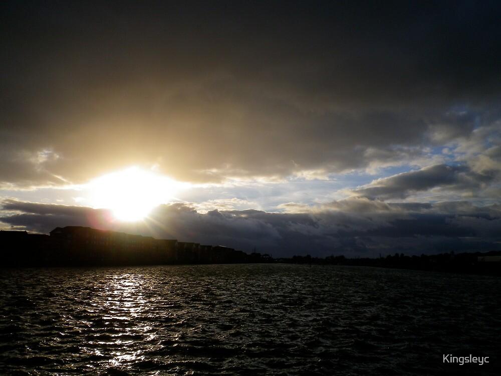 Preston Dock Stormy by Kingsleyc