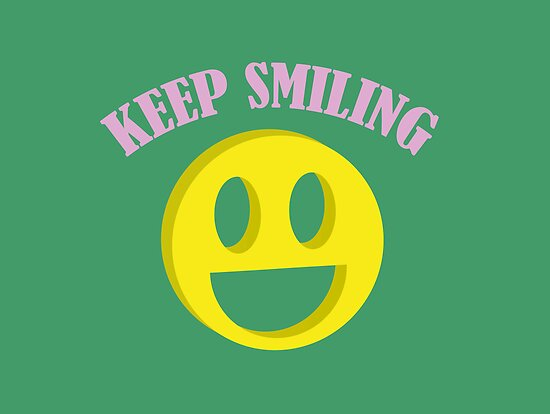 Keep Smiling by fridstroto