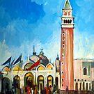 Saint Mark Square by Filip Mihail