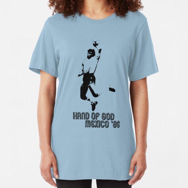 Maradona - Hand of God Slim Fit T-Shirt