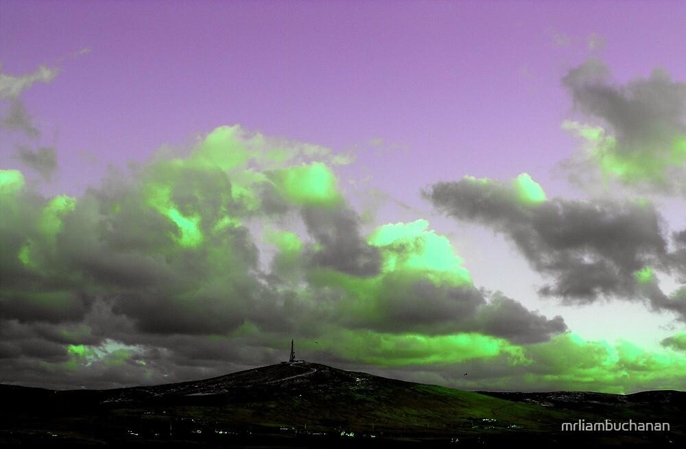 Green clouds by mrliambuchanan