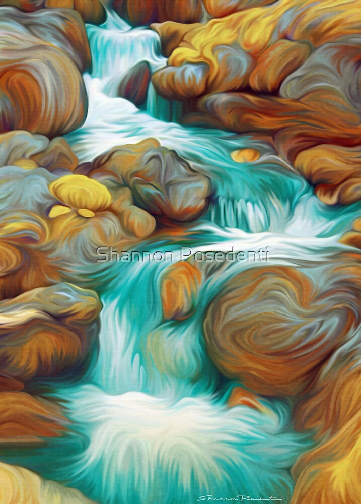 Waterfall by Shannon Posedenti