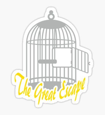 The Great Escape VRS2 Sticker