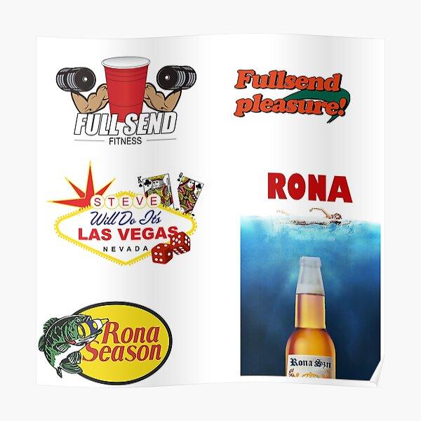 Nose Beers Posters Redbubble @stevewilldoit and @stevewillsendit full send. redbubble