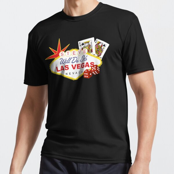 Steve Will Do It S Las Vegas Active T Shirt By Canyonpoint Redbubble Stephen deleonardis (born august 26, 1998), better known as stevewilldoit, is an american youtuber and entertainer known for his extreme challenge videos. redbubble