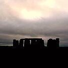 Stonehenge II - iPhone Cover by Richard Owen