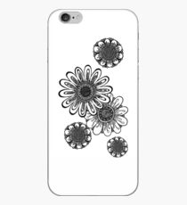 Inked Gerber Daisies iPhone Case