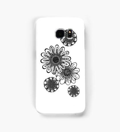 Inked Gerber Daisies Samsung Galaxy Case/Skin