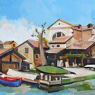 Venetian Shipyard by Filip Mihail