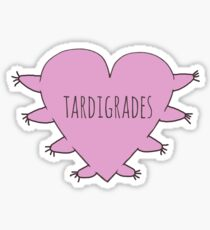 TARDIGRADE LOVE Sticker