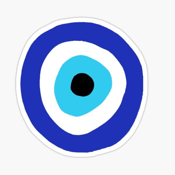 Ilustración de mal de ojo Pegatina